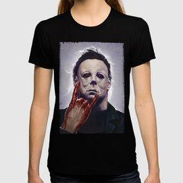 Michael Myers Rocks T-shirt
