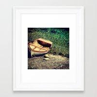 greece Framed Art Prints featuring Greece by Oscar Feiven