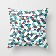Triangles #3 Throw Pillow