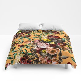 floral ambiance Comforters