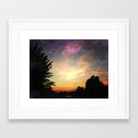 indiana Framed Art Prints featuring Indiana by Kailin Ellett