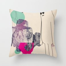 spy_lungone Throw Pillow