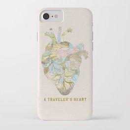 A Traveler's Heart iPhone Case