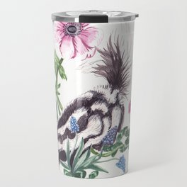 Garden Skunk Travel Mug