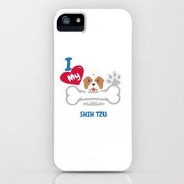 SHIH TZU Cute Dog Gift Idea Funny Dogs iPhone Case