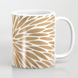 Rose Gold Burst Coffee Mug