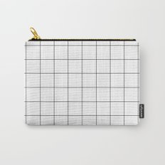 White Grid  /// www.pencilmeinstationery.com Carry-All Pouch