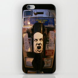 Hollywood Phonebooth iPhone Skin