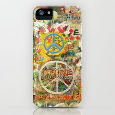 Peace Sign - Love - Graffiti iPhone (5, 5s) Slim Case