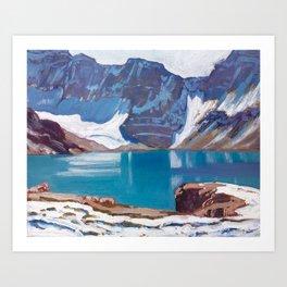Lake McArthur by James Edward Hervey MacDonald - Canada, Canadian Oil Painting - Group of Seven Art Print