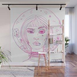 Barbarella Space Princess Wall Mural