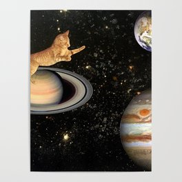 Cat.In.Space. Poster