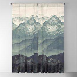 Mountain Fog Blackout Curtain