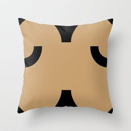 face 5 Throw Pillow