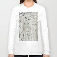 narnia Long Sleeve T-shirts featuring Aspen I by Laura Ruth