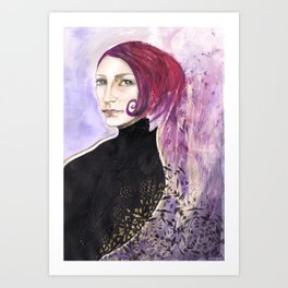 Hayley Art Print