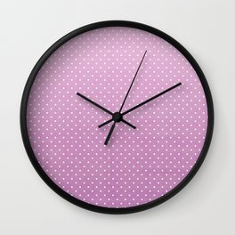 Simply Dotted 2 Wall Clock