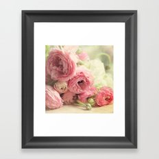 the first bouquet Framed Art Print