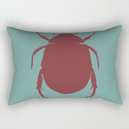 Egyptian Scarab - Beetle Rectangular Pillow