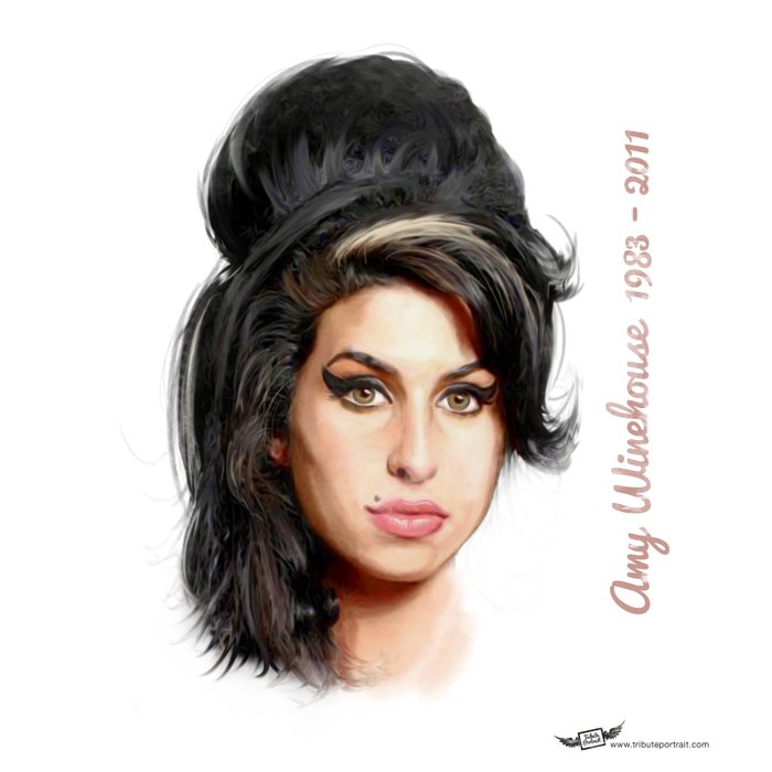 Winehouse, Amy Duvet Cover