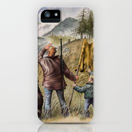 Tread Ye Not iPhone Case