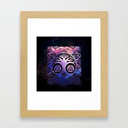 Tree of life - Yggdrasil Framed Art Print