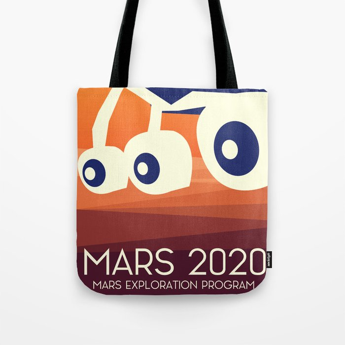 Mars 2020 Rover Tote Bag