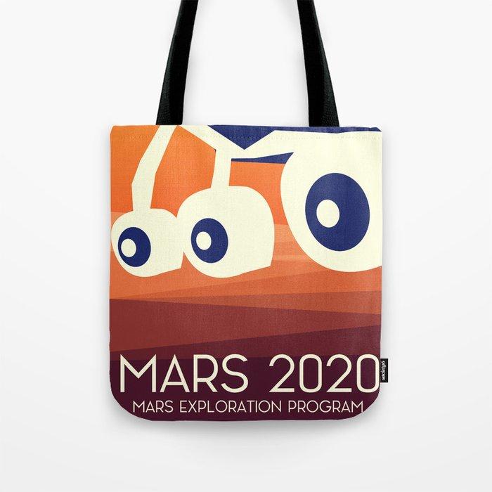 Mars 2020 Rover Tote Bag