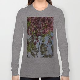 Pink and White Blossoms Long Sleeve T-shirt