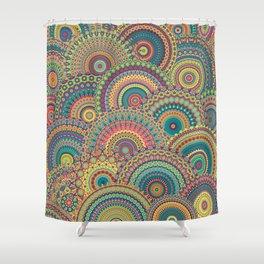 Millefiori Mandala Shower Curtain