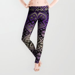 The Lodge (Purple) Leggings