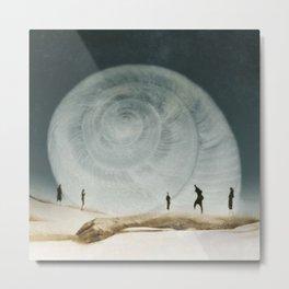 Beachcomber Metal Print