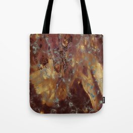 Abstract copper pattern Tote Bag
