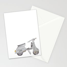 Vespa, Italian Motorbike Stationery Cards