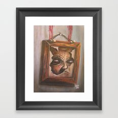 Me Inside Framed Art Print