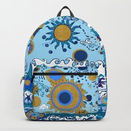 Sun & Sea nautical design Backpack