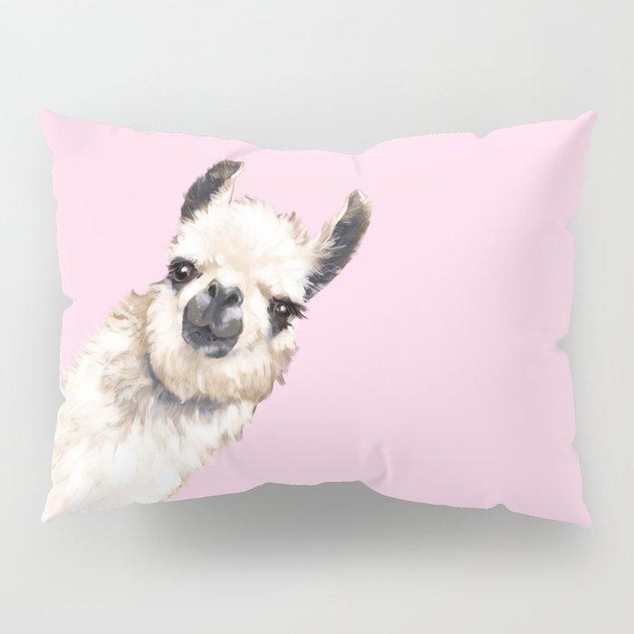 Sneaky Llama Pillow Sham
