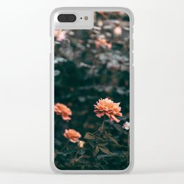 Late Autumn Rose #2 Clear iPhone Case