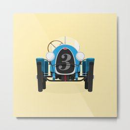 Bugatti Type 13 Metal Print