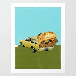 Dinner's Here Art Print