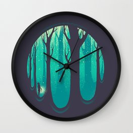 Lonely Dream Wall Clock