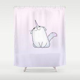 Uni-Kitty Shower Curtain