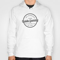 inside gaming Hoodies featuring Inside Gaming - 100% Moderation  by Jess Kovic