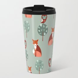 Fox Woods Travel Mug