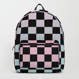 Gradient Checkerboard Backpack