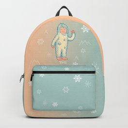 Yeti - Cute Cryptid Backpack
