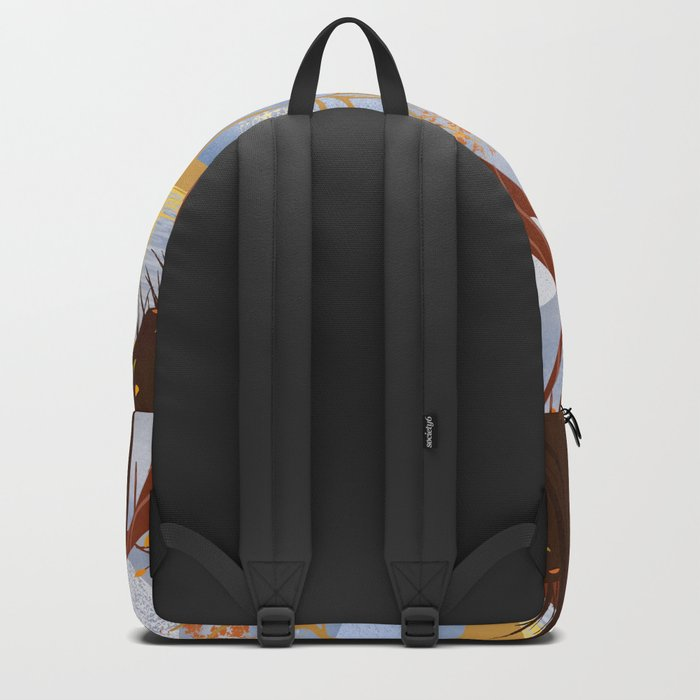 Autumn Leaves Autumn Woods Backpack