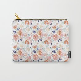 IBD Boho Peonies Carry-All Pouch