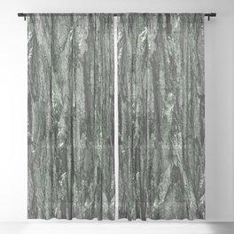 Symmetrical Texture Sheer Curtain
