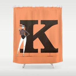 Kendra & Clarendon Shower Curtain